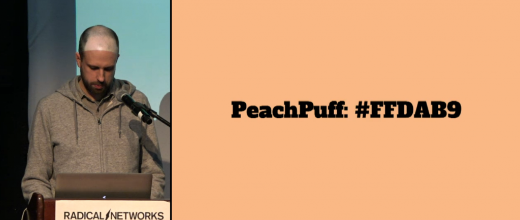 Peach Puff texts from the network reading by Jeff Thompson