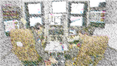 Richard The, Frédéric Eyl — The Unresolved Image (Sketch), Algorithm-generated Image, 2016