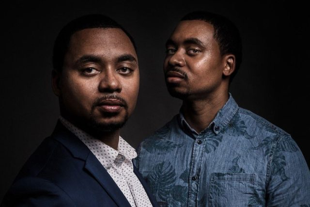 """Troy Nunnally and Travis Nunnally, also known as """"the Tech Twins,"""" are cofounders of Brain Rain Solutions."""